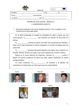 Anexo 42 1 PRUEBA DE EVALUACIÓN – MÓDULO 4 I