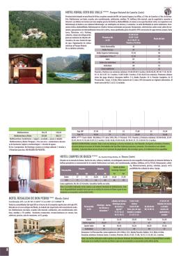 HOTEL RURAL COTO DEL VALLE ****- Parque Natural de Cazorla