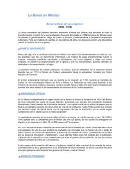 La Banca en México - Asociación de Bancos de México
