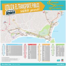 Bus urbano Calp / Calp bus routes www.calpe.es