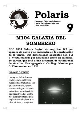 M104 GALAXIA DEL SOMBRERO