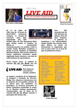 LIVE AID - Alviento