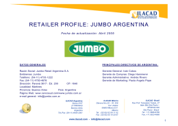 RETAILER PROFILE: JUMBO ARGENTINA