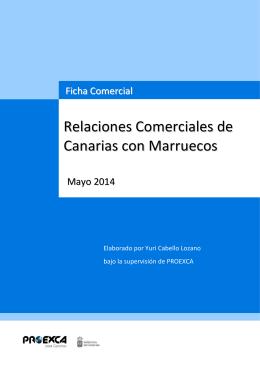 Relaciones Comerciales de Canarias con Marruecos
