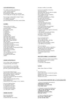 Cancionero - Hermanos de la Sagrada Familia