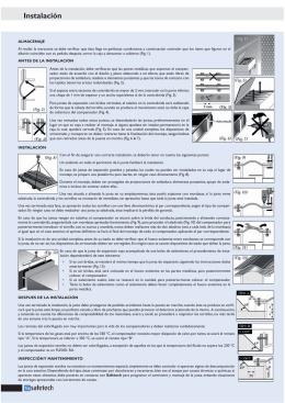 Instalación - Grupo Oria Safetech