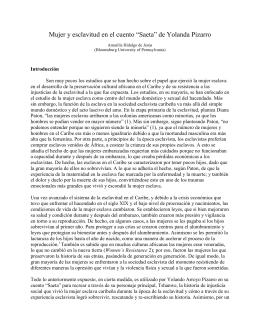 """""""Saeta"""" de Yolanda Pizarro"""