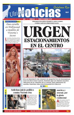 estAcionAmientos en el centro - Ultimas Noticias Quintana Roo