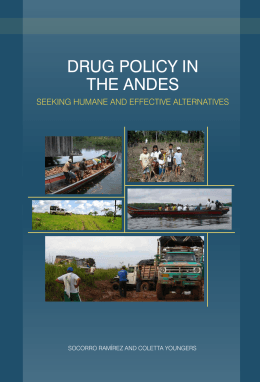 Drug Policy in the Andes