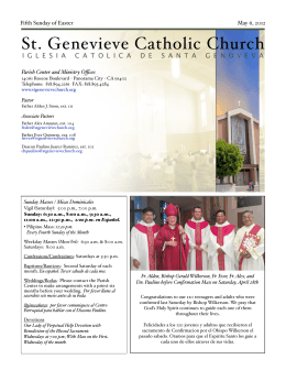 513378 St Genevieve 050612 - St. Genevieve`s Catholic Church