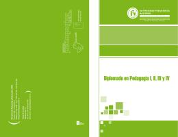 Diplomado en Pedagogía I, II, III y IV