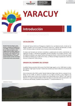 El Estado de Yaracuy - Artículo - PDF