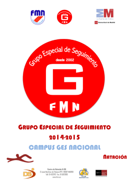 07/07/2015 convocatoria campus ges alevin 14-15