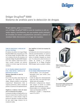 Dräger DrugTest® 5000 Sistema de análisis para la detección de