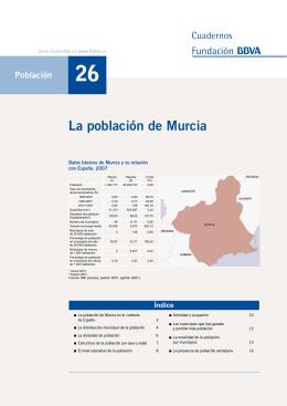 La población de Murcia