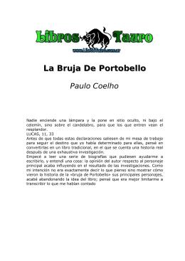La Bruja de Portobello - Escuela Latinoamericana ELA