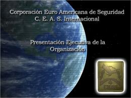 Corporación Euro Americana de Seguridad (CEAS Internacional)