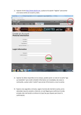 1) Ingresar al sitio http://www.daz3d.com, y pulsar en la opción