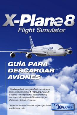 X-Plane 8 - Guía para descargar aviones