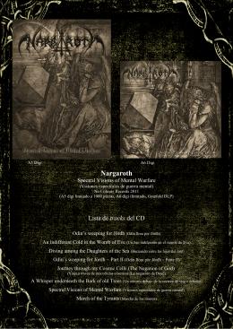 tracks - Nargaroth