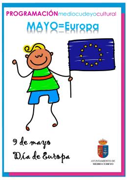 MAYO=Europa 9 de mayo Día de Europa
