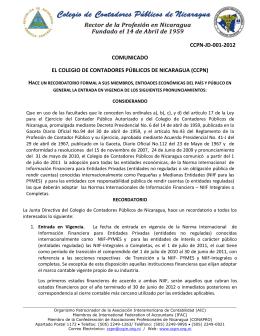 ccpn-jd-001-2012 comunicado el colegio de contadores públicos de