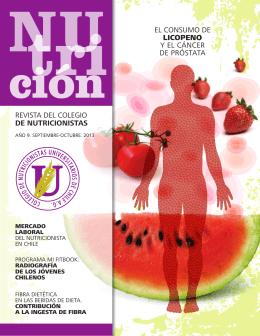 revista del colegio de nutricionistas el consumo de licopeno y el