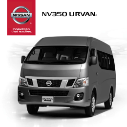 Catalogo Urvan - Nissan Mexicana
