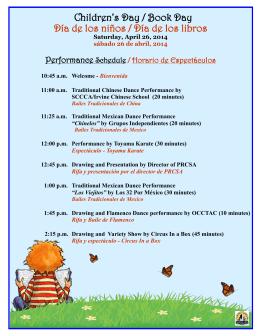 Children`s Day / Book Day Día de los niños / Día