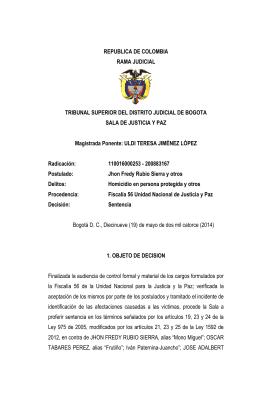 19-may-2014 - Fiscalía General de la Nación