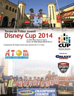 Ventajas de DISNEY CUP 2014