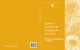 Sistema General de Divulgación de Datos : Guía para los