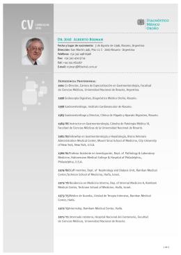 Dr. José Alberto Rojman - Diagnóstico Médico Oroño