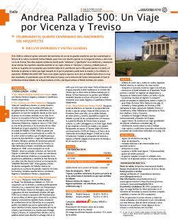 Andrea Palladio 500: Un Viaje por Vicenza y Treviso