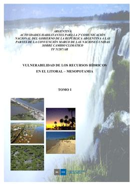 vulnerabilidad de los recursos hídricos en el litoral