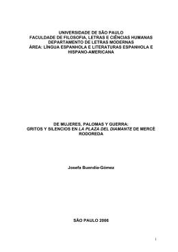 De mujeres, Palomas y guerra - Biblioteca Digital de Teses e