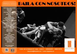 BAILA CON NOSOTROS! - bayamo: estudio de baile