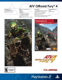 ATV Offroad Fury® 4