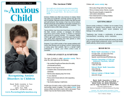 The Anxious Child.p65