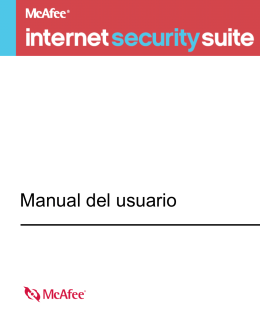 McAfee Internet Security Suite Manual del usuario