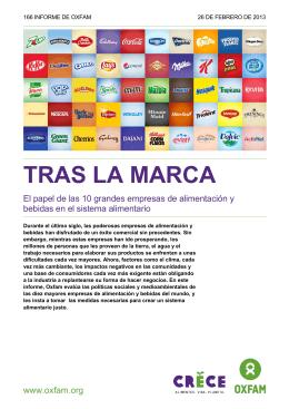 Tras la marca - Behind the Brands