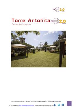 Eventos Dos Punto Cero S.L. B-73775058. Crta. de Alicante, Km. 10