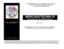 MERCADOTECNIA IV