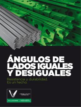 ÁNGULOS DE LADOS IGUALES Y DESIGUALES