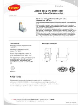 Z calo para tubos fluorescentes 2 for Porta tubos fluorescentes