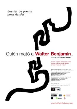 bajar pdf - Quién mató a Walter Benjamin…