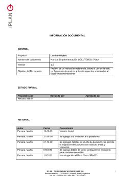 TITULO ARIAL 11 - locutorios iplan