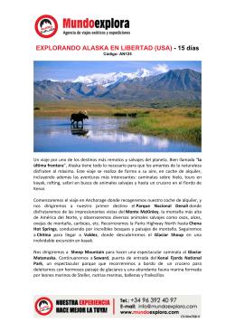 EXPLORANDO ALASKA EN LIBERTAD (USA) - 15