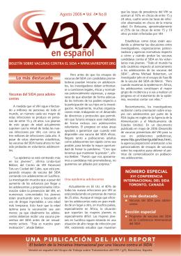 en español - VAX Report