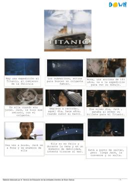 Hay una expedición al Titanic, al comienzo de la